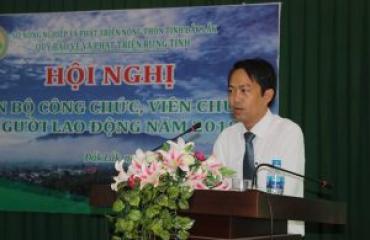 Hội nghị cán bộ, công chức, viên chức, người lao động năm 2018 Quỹ Bảo vệ Phát triển rừng tỉnh