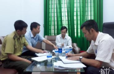 Kiểm tra, giám sát công tác quản lý và sử dụng tiền dịch vụ môi trường rừng năm 2018 của UBND xã Cư Drăm, huyện Krông Bông.