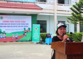 Buổi ngoại khóa có ý nghĩa tại Trường THCS Trần Hưng Đạo huyện Lắk