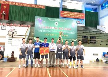 Giải bóng đá mini tranh cúp Quỹ Bảo vệ và PTR tỉnh lần thứ hai năm 2019