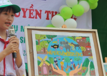 Quỹ Bảo vệ và Phát triển rừng tỉnh kết thúc chương trình đồng hành cùng học sinh đến trường năm 2020