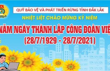 Thư chúc mừng của Chủ tịch Tổng Liên đoàn Lao động Việt Nam nhân kỷ niệm 92 năm Ngày thành lập Công đoàn Việt Nam